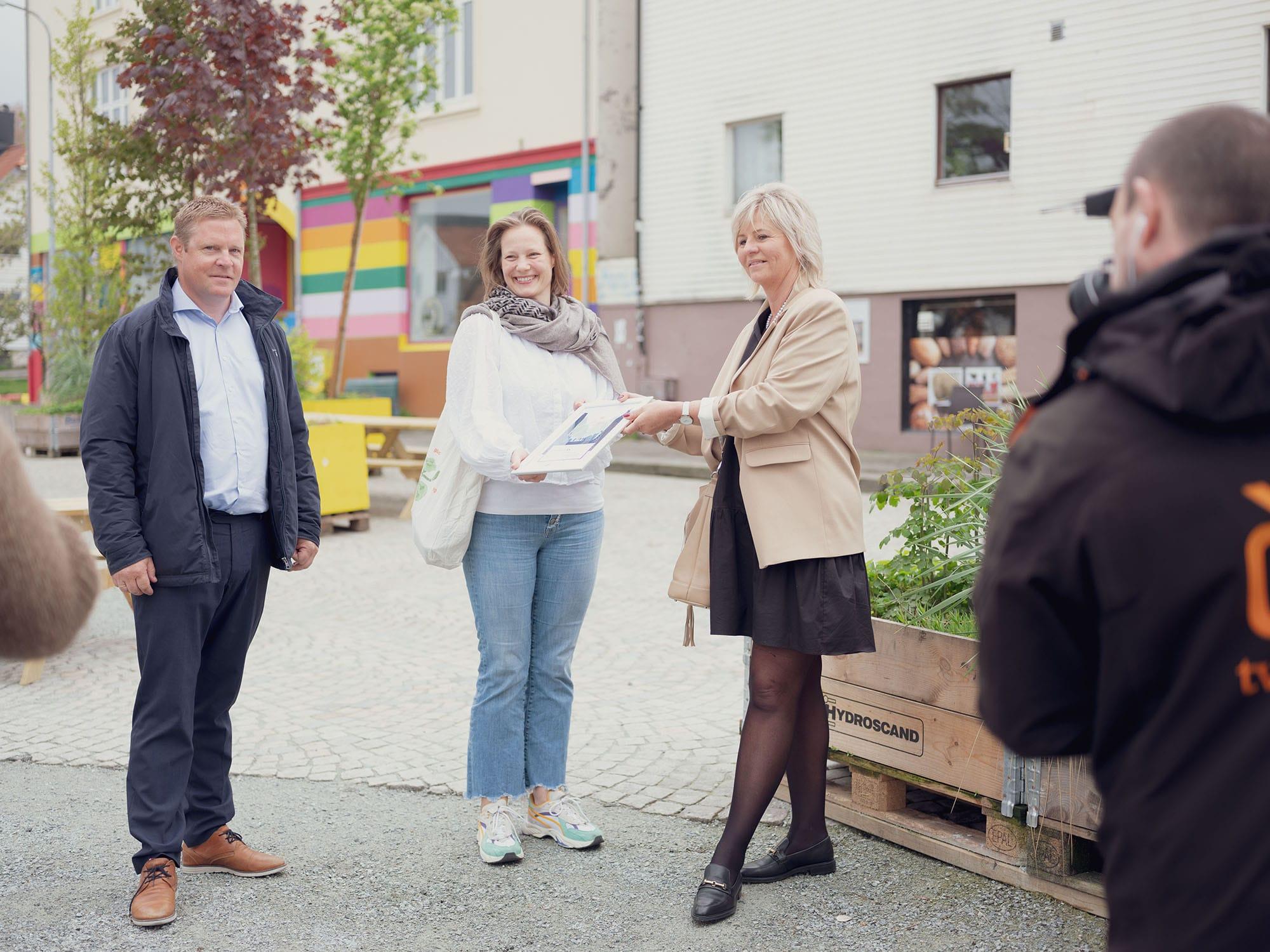 Maren Skjelde og Sparebanken Vest
