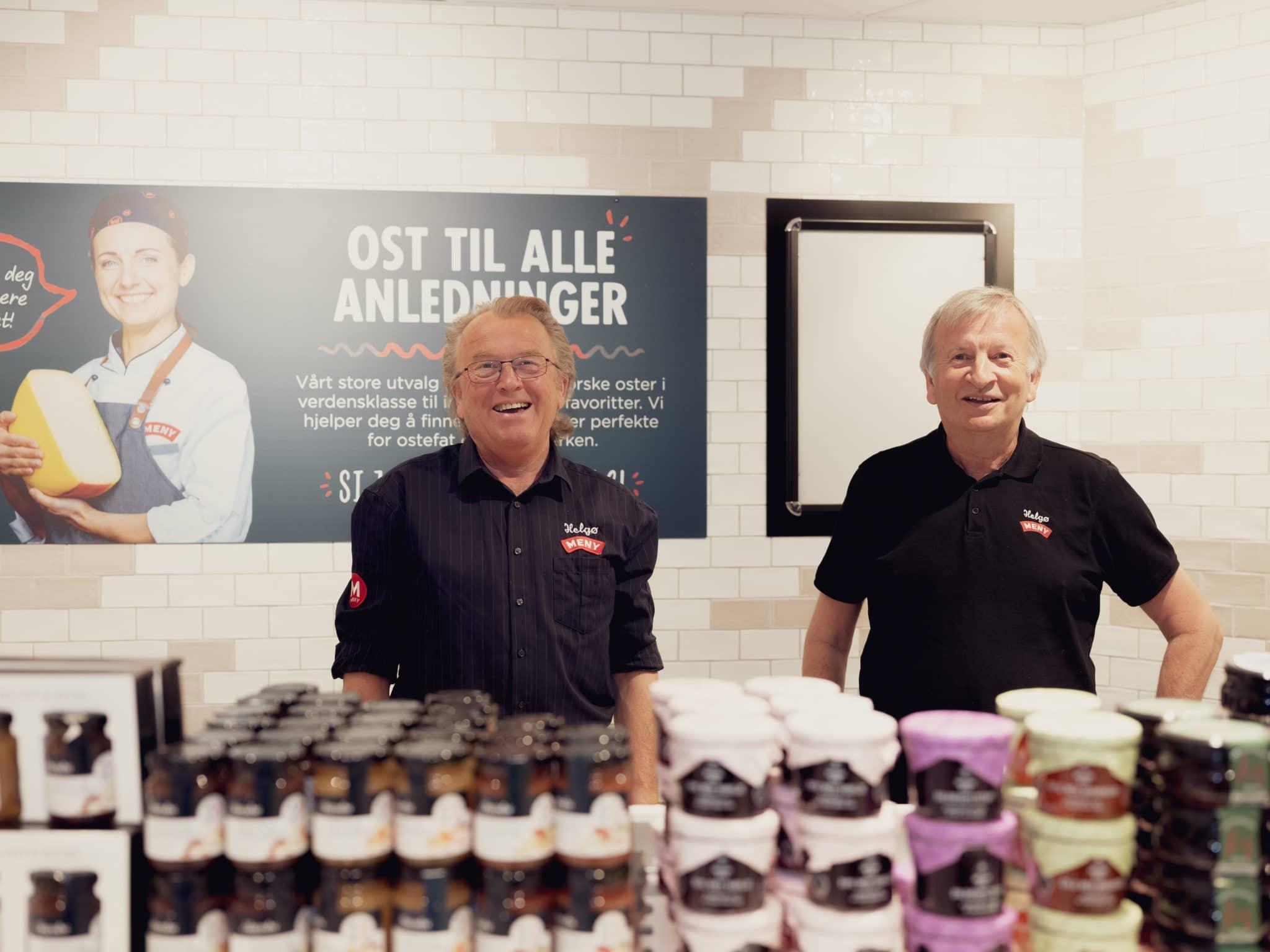 Kjøpmenn på Helgø Meny