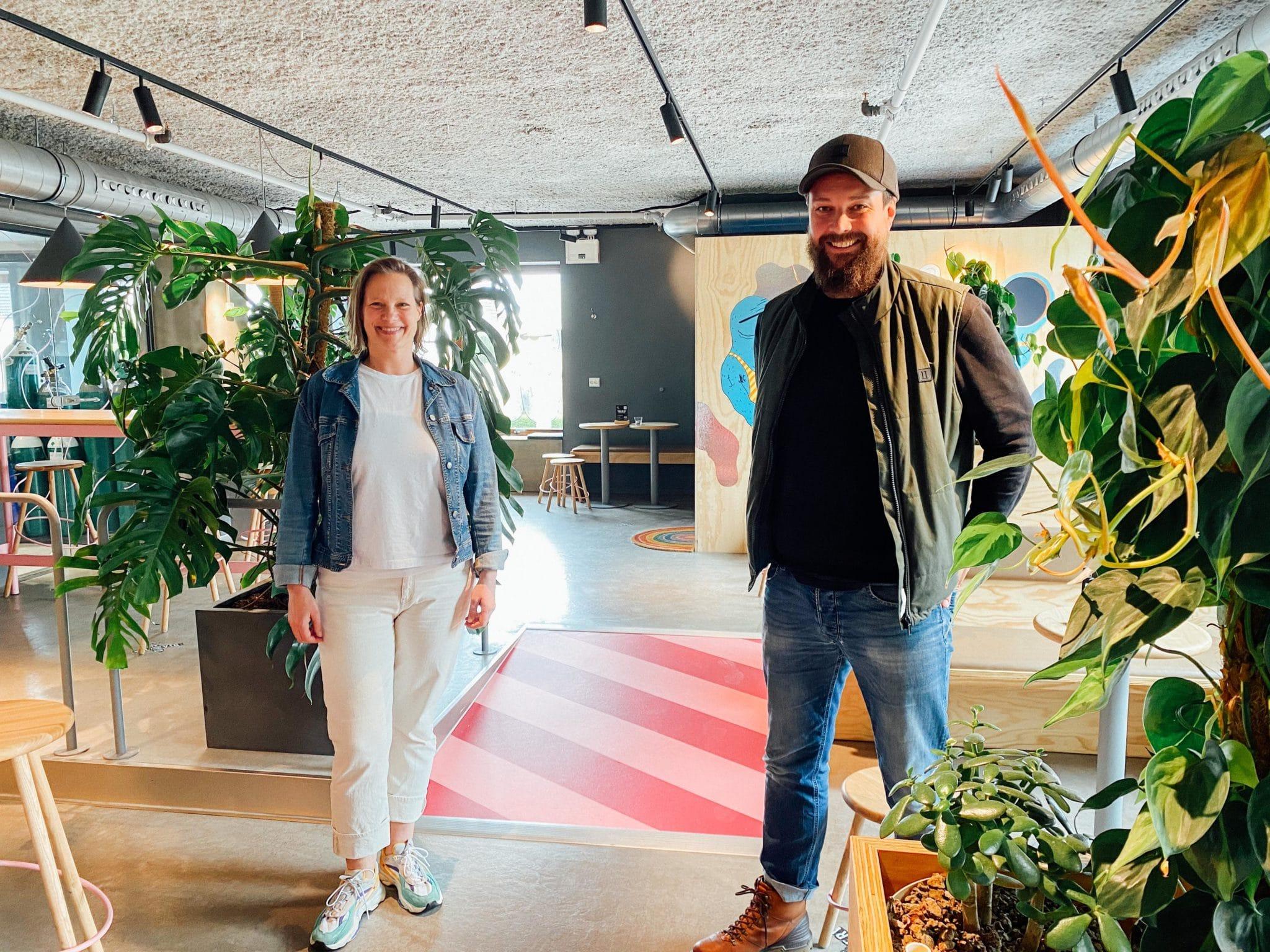 Anders Kleinstrup og Maren Skjelde